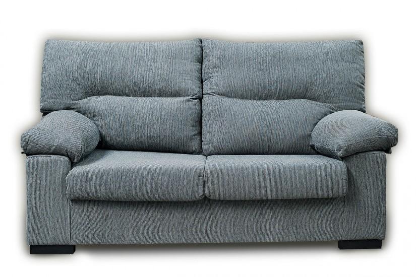 Sof 3 plazas sonja gris al mejor precio for Sofas comodos y baratos