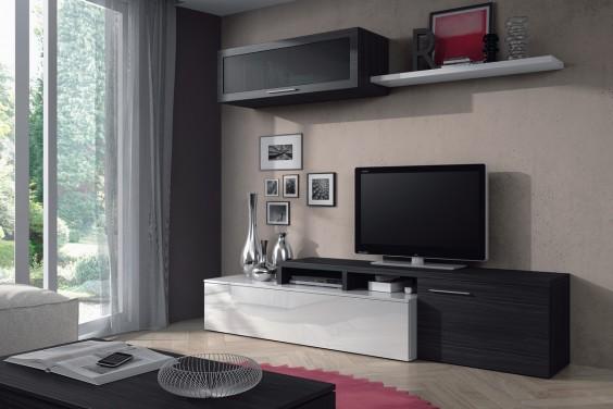 Mueble de sal n comedor moderno nexus al mejor precio for Muebles de salon comedor modernos