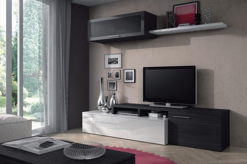 Mueble de sal n comedor moderno nexus al mejor precio - Muebles bajos para salon ...
