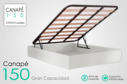 Mejor Canape O Somier.Muebles Mesas Somier Canape 150