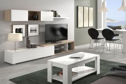 Muebles de salon baratos muebles de salon muebles for Muebles salon roble natural