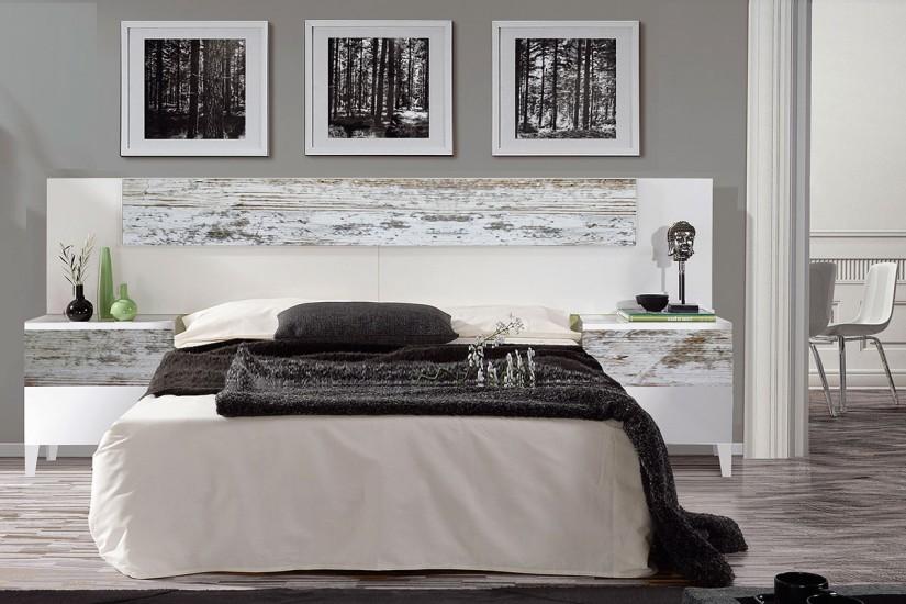 Dormitorio vintage for Dormitorio vintage blanco