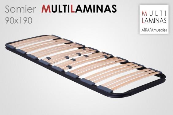 Somier Multiláminas 90X190