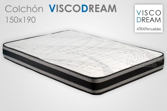 Colch n de 150x190 visco al mejor precio de internet for Colchon 70 x 190