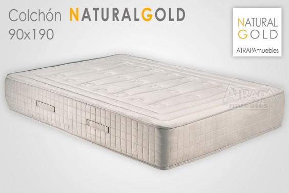 Colchón NATURAL GOLD 90x190