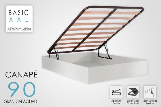 Canape 90x190 BASIC Blanco