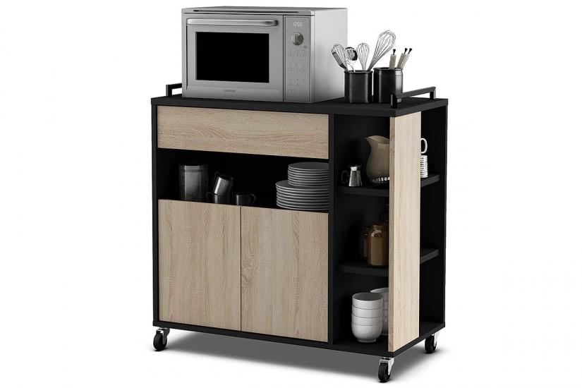 mueble carro de cocina con dise o loft industrial