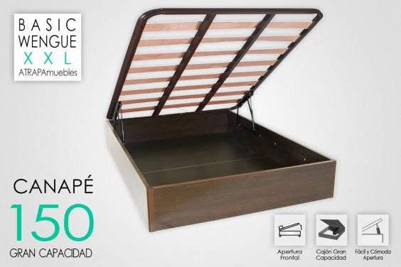 Canape 150x190 BASIC Wengue