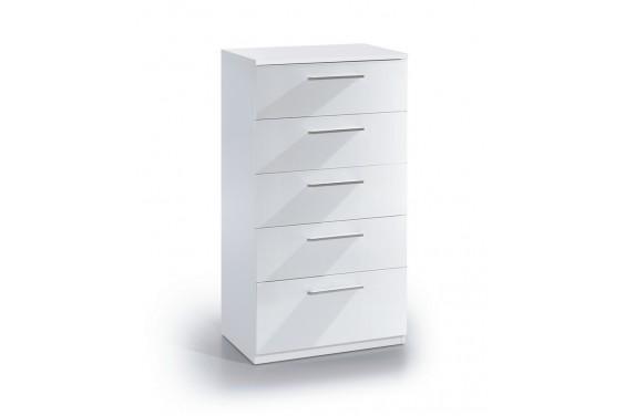 Cómoda 5 cajones Blanco
