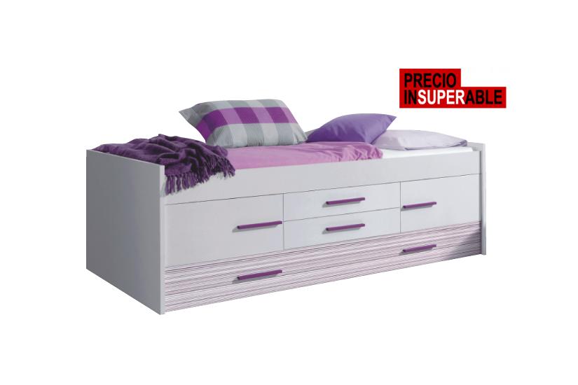 Top 28 cama doble iplay con somier camas dobles - Doble cama nido con cajones ...
