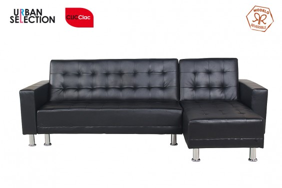 Chaiselongue Cama FIZZY Negra