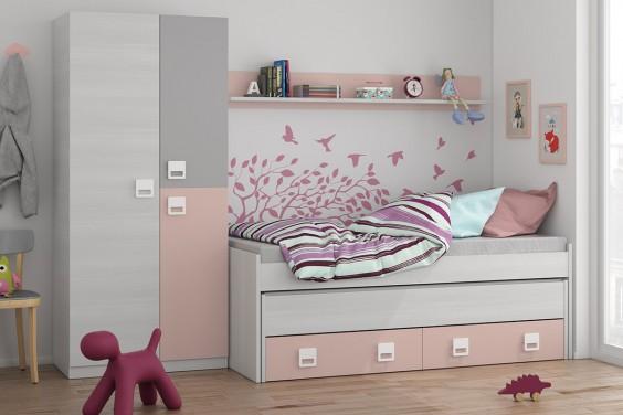 Dormitorios juveniles baratos puff baratos dormitorios for Camas infantiles baratas