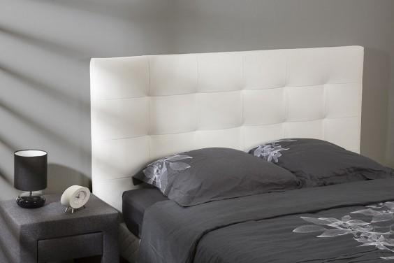 Cabecero de cama CAPITONE Blanco
