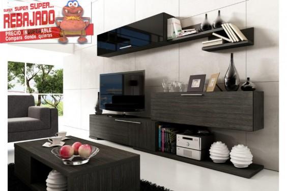 Muebles de salon baratos muebles de salon muebles for Mueble compacto tv