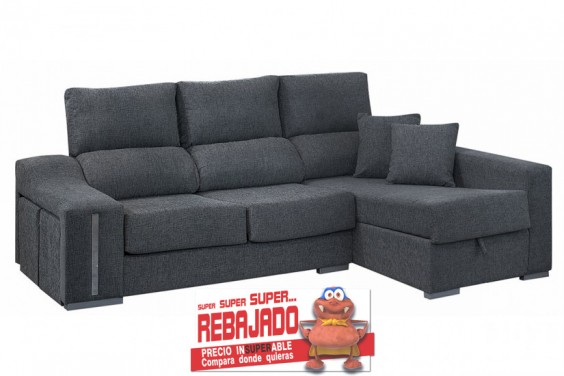 Sof s baratos cheslong atrapamuebles for Sofa cheslong