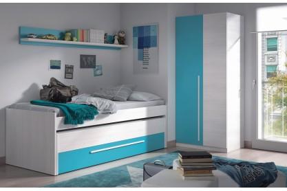Dormitorios juveniles baratos puff baratos dormitorios for Cajonera blanca barata