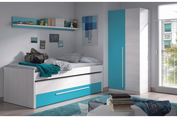 Dormitorios juveniles baratos puff baratos dormitorios for Dormitorios juveniles cama nido doble