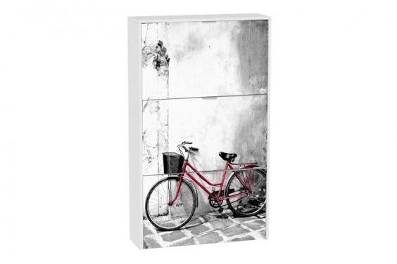 Zapatero Bicicleta ROJA