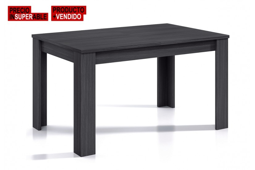 Mesa de sal n comedor extensible 140 190 cm color for Mesas de salon modernas extensibles