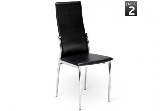 2 sillas salón SEI Negro 33€/u