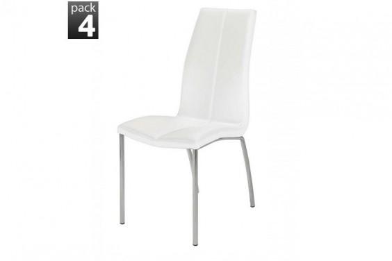 4 sillas STICA Blanca (39 € /u.)