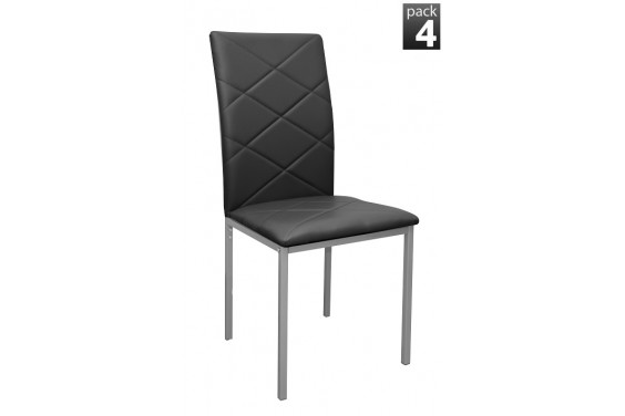 4 sillas SIRIUS Negro (29€ /u.)