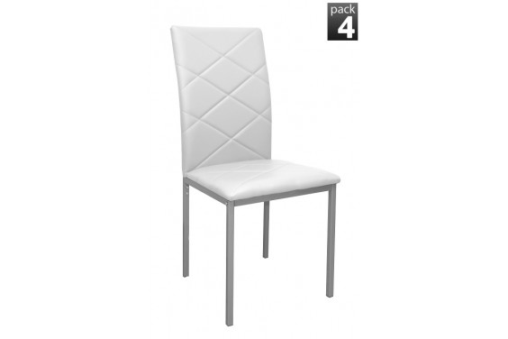 4 sillas SIRIUS Blanco (29€ /u.)