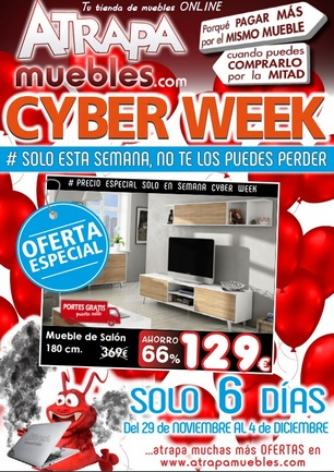 Catalogo Muebles Cyber Week 2016