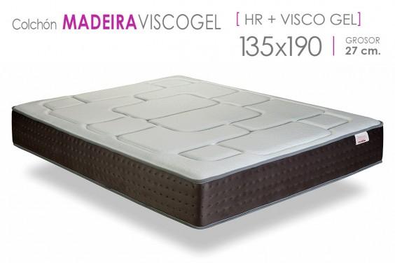 Colchón MADEIRA Visco Gel 135x190