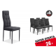 6 sillas salón ZUNI Gris 26 €/u.