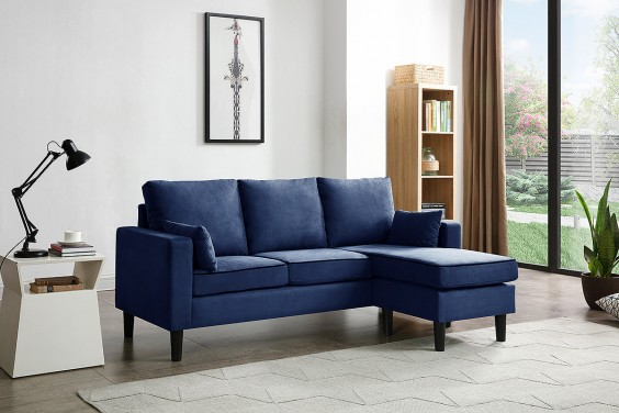 Chaiselongue PIMS Azul Reversible