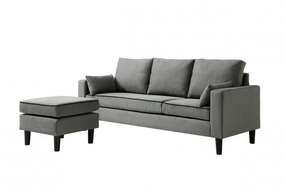 Chaiselongue PIMS Gris Reversible