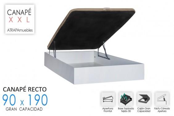 Canape 90x190 RECKTO Blanco