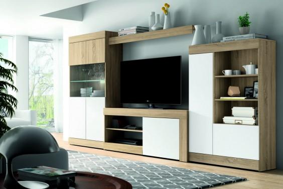 Muebles de sal n baratos muebles modernos atrapamuebles for Modulos para salon baratos