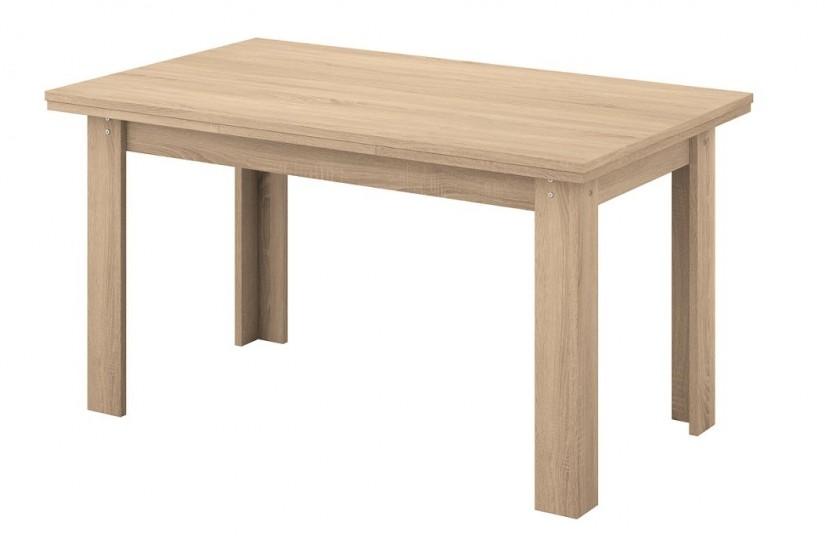 Mesa de comedor rectangular logan extensible en color for Mesas de comedor rectangulares