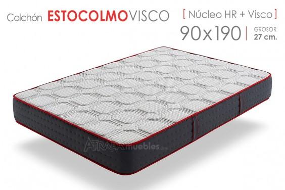 Colchón ESTOCOLMO VISCO 90x190