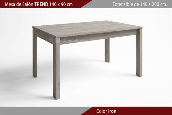 Mesa comedor TREND Extensible 140x90