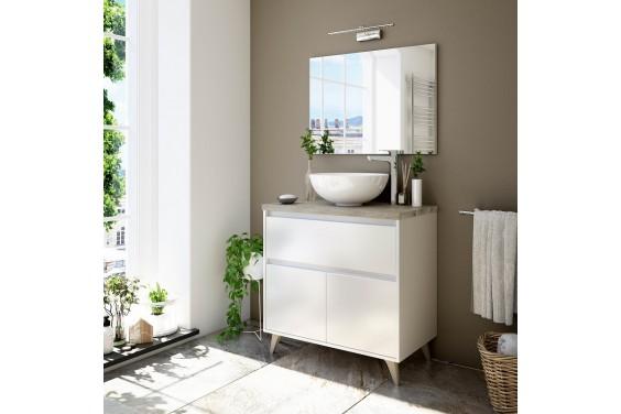 Mueble de Baño con Encimera ONA 1 Cajón 2 Puertas