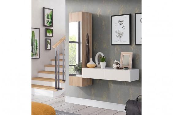 Recibidor de pared con Espejo GELAZA