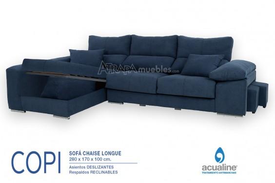 Chaiselongue Izquierda COPI Azul