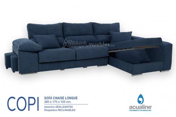 Chaiselongue Derecha COPI Azul