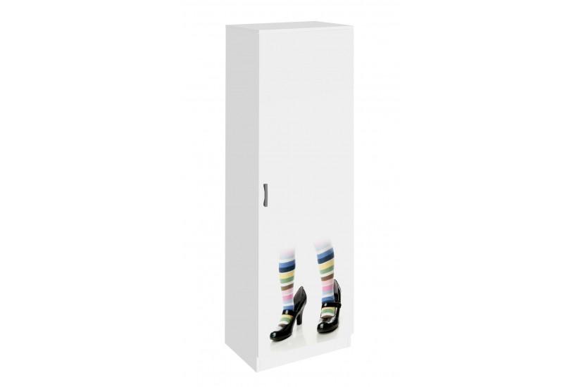 Zapatero de 1 puerta y 9 estantes zapatos y medias for Zapatero colgar puerta