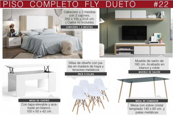 Piso completo 22 - FLY DUETO