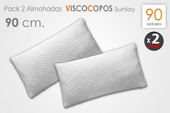 Pack 2 Almohadas sunlay VISCO COPOS 90 CM