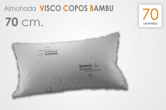 Almohada VISCO COPOS Bambu 70 CM