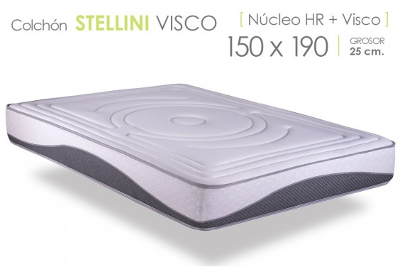 Colchón STELLINI VISCO BS 150x190