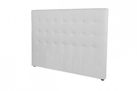 Cabecero de cama CAPITONE PU Blanco