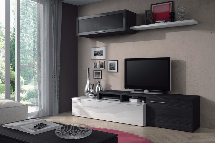 mueble de sal n comedor moderno nexus al mejor precio. Black Bedroom Furniture Sets. Home Design Ideas