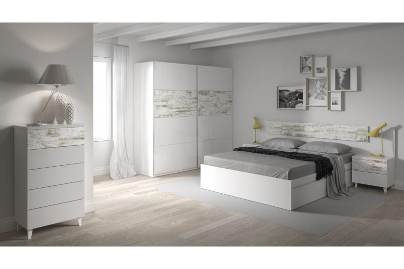 Dormitorios de matrimonio blancos free with dormitorios - Dormitorios vintage blanco ...