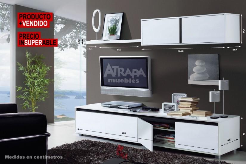 Tienda online de muebles al mejor precio muebles for Muebles de tv modernos precios